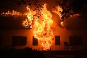 Wine Estate Fire